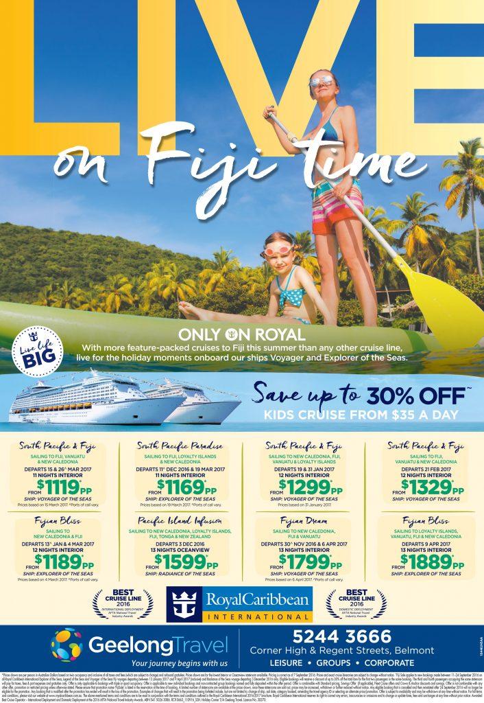 Live on Fiji time